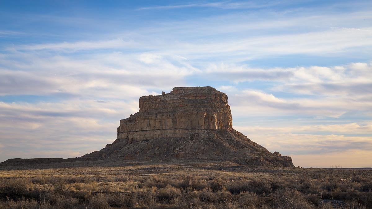 A New Mexico icon - Fajada Butte